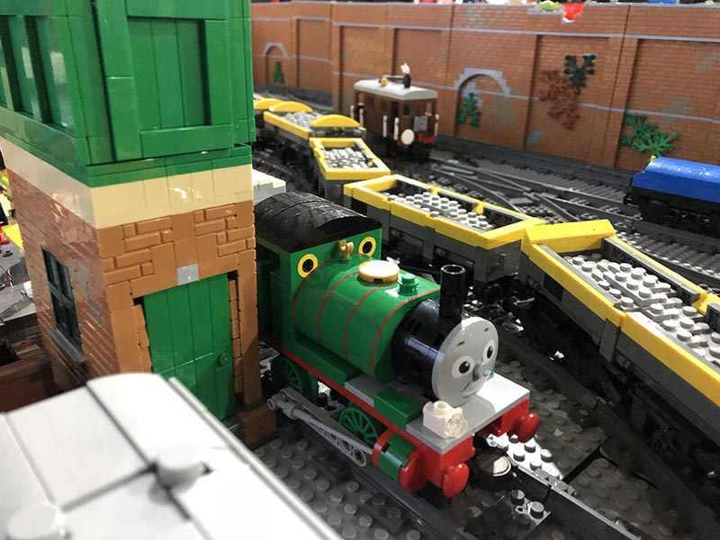 LEGO model of Percy (Thomas & Friends)