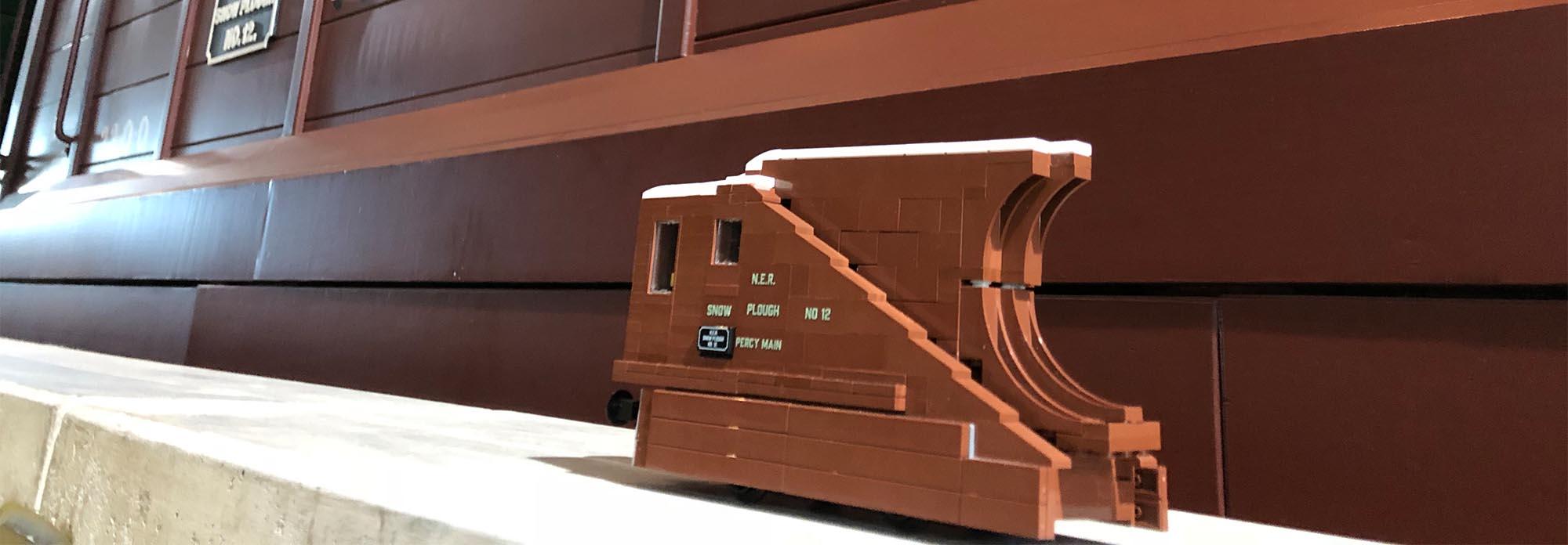 LEGO rolling stock models by LNUR members