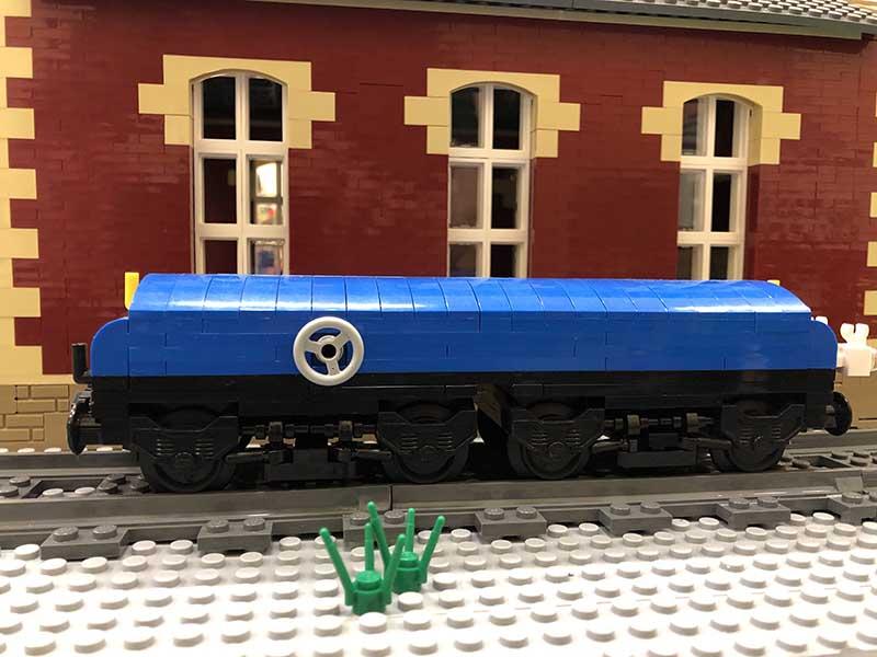 LEGO model of 35t Diesel Brake Tender (RTV)
