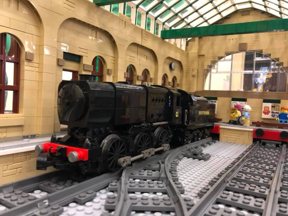 LEGO model of Southern Railway Bulleid Q1 class