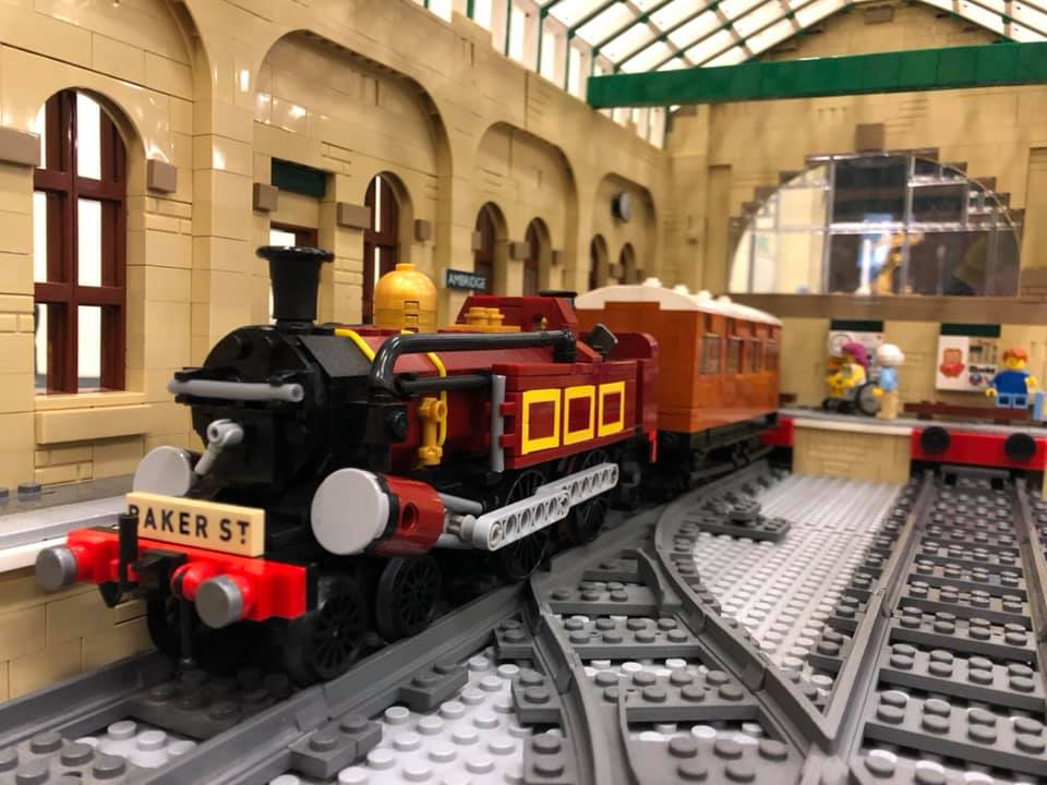 LEGO model of Metropolitan Railway A Class