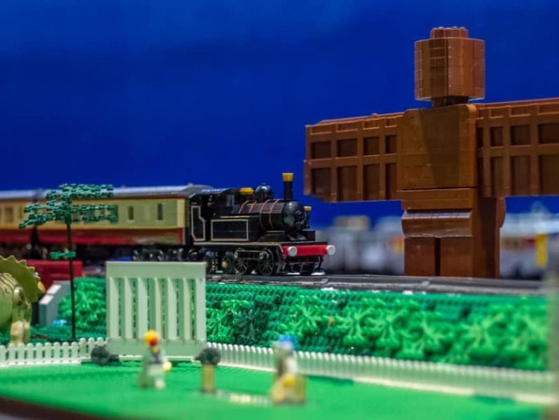 Our LEGO railway displays