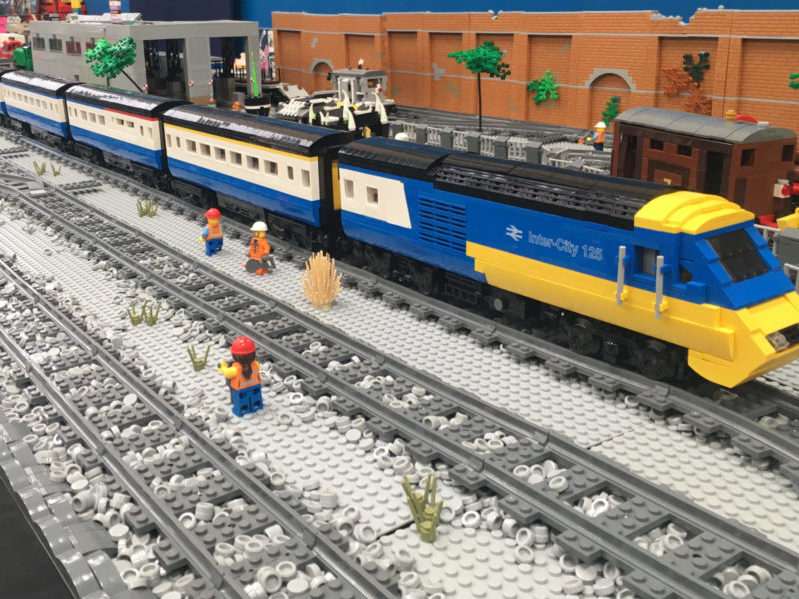 Our LEGO rolling stock