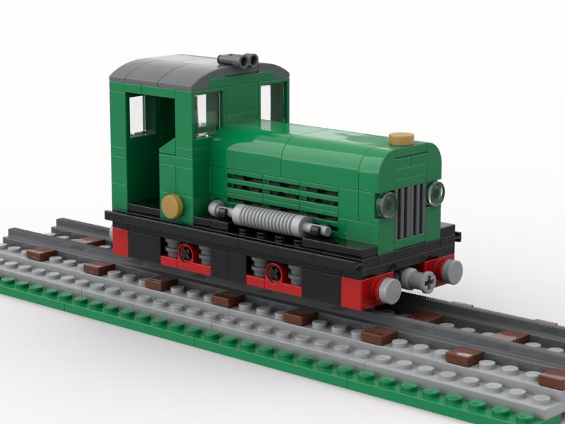 LEGO model of Diesel shunter