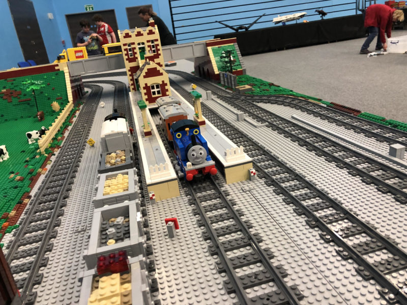 LEGO model of Troublesome Trucks