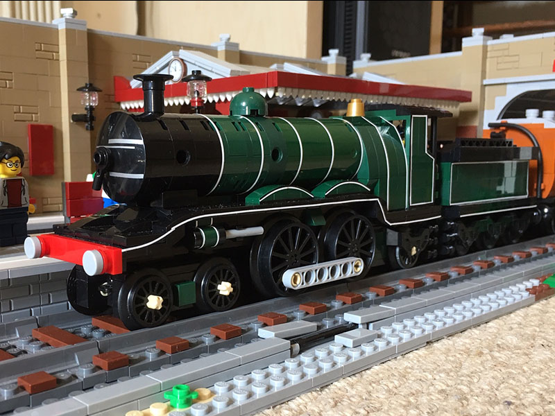 LEGO model of LBSCR H2 Atlantic