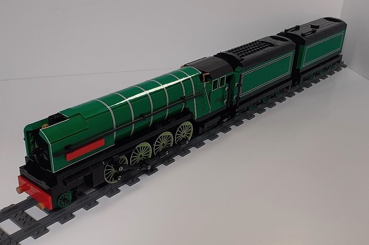 LEGO model of P2 Prince of Wales