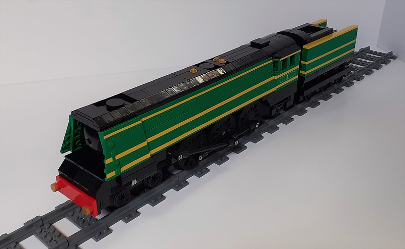 LEGO model of West Country class