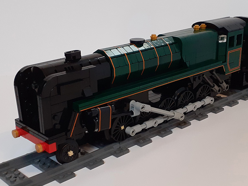 LEGO model of Evening Star
