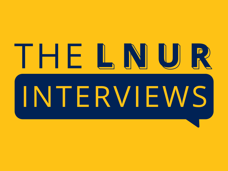 LNUR Interviews - LEGO train fan interview podcasts