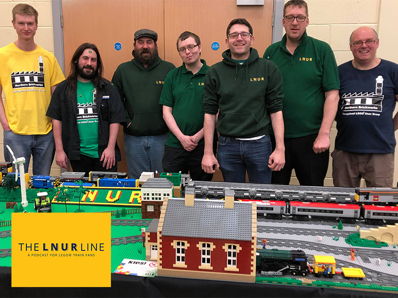 LNUR Line Podcats - Episode 9 - LEGO Train Clubs