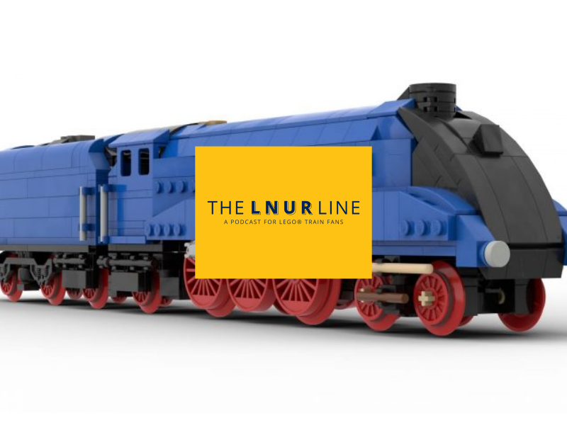 LNUR Line podcast - British locos in LEGO bricks
