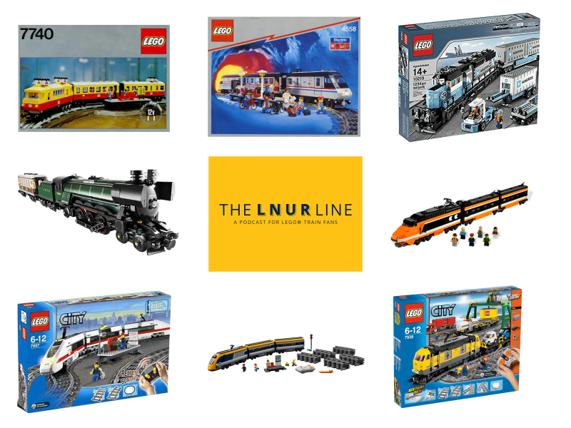 LEGO train sets - LEGO trains podcast episode 13